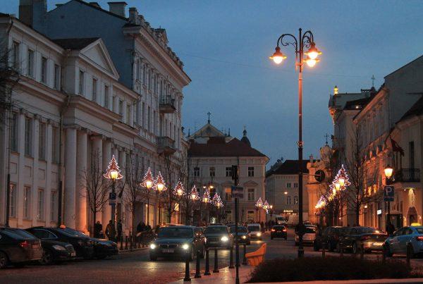 ville la nuit, lampadaires epnrj